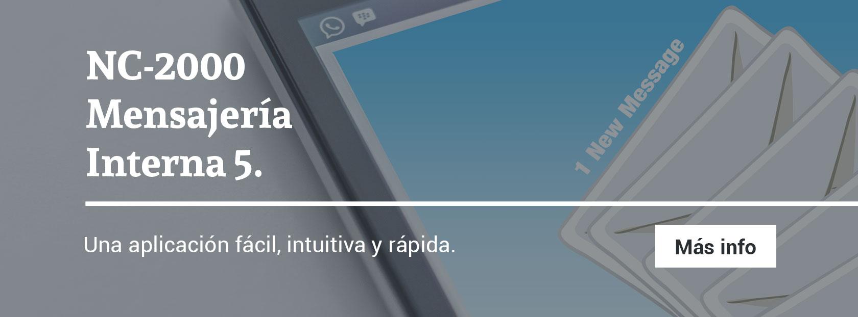 Software de mensajería interna